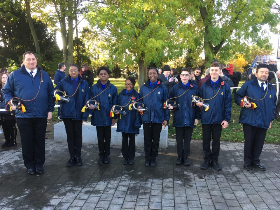 The 14th West Kent Boys' Brigade Band